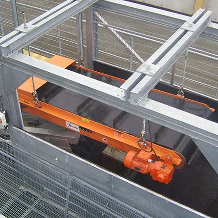 Permanent overband for conveyors