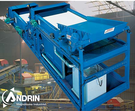 Andrin patented eddy current separator - Fine Special